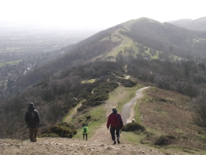 On the Malverns