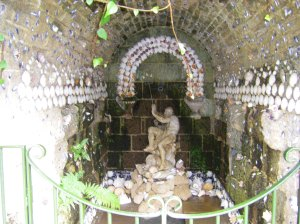 grotto, garden of surprises