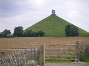 waterloo battlefield--the mound